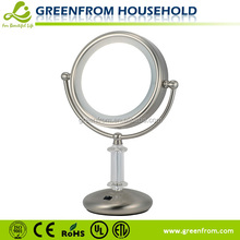 8 Inch bathroom mirror LED fancy vanity mirror decorative mirror