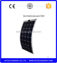 thin film Solar Panel , Highe Efficiency Flexible Pv Solar Panel Price 100W