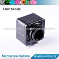 5.0 mega píxeles cámara del usb para el microscopio