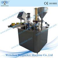 plastic food container sealing machine