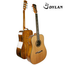 handcrafted chinese all solid wood guitar