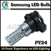 Samsung 12W PY24 car LED turn signal light fog light bulb