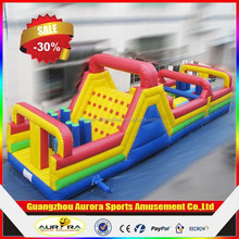 2015 New design adult inflatable obstacle course giant inflatable obstacle course