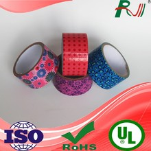 Heat resistant reinforced adhesive waterproof sticky duct tape for carton sealing