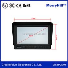 7 inch metal case tft lcd cheap usb touchscreen monitor