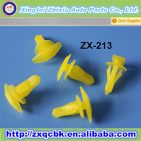 Crazy sell ! ZHIXIA auto nylon auto clips and fasteners manufacturer/automotive plastic clips/China automotive clip