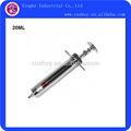 20ml metal seringa veterinária