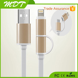 Portable Phone To Phone Emergency Charging Charger Micro USB Cable For Android Phones