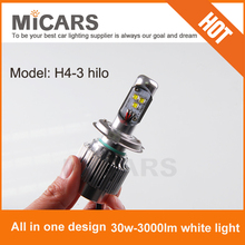 2014 All in one 3000lm CREE moto LED headlight