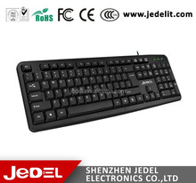Best Selling USB Wired Computer Keyboard with Arabic Keyboard Wholesale China