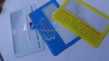 Business card magnifier,magnifying lens, pvc credit card magnifier Business card magnifier,magnifying lens,