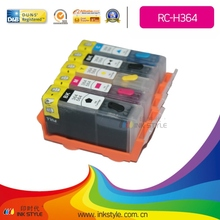 Inkstyle Refillable cartridges H364 for HP Photosmart B8850/C5380/C5383/C6383/D5463 with chip