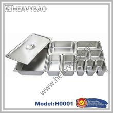 High Quality Kinds Of Stainless Steel gastronome pan