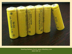 AA 700mAh 1.2V 5 nickel cadmium rechargeable batteries, electric / remote control toys, battery rechargeable 800 times