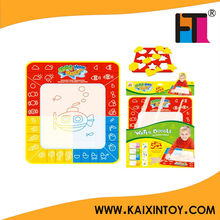 Polyester magic water doodle mat kids' writing board toys learning carpet EN71/AZO certificate