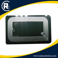 RFID contact cmyk printing business chip cards