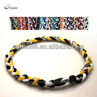 Sobon factory titanium braided necklace