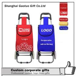 Custom Cheap Folding Shopping Trolley Bag