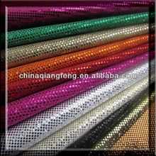 Glitter textile materiales del zapato del papel pintado con brillo mayor glitter tela