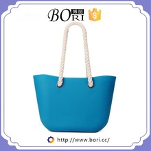 wholesaler o bag rubber bag silicone tote bag