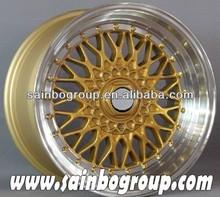 Popular design car alloy wheels, replica bbs wheel rims