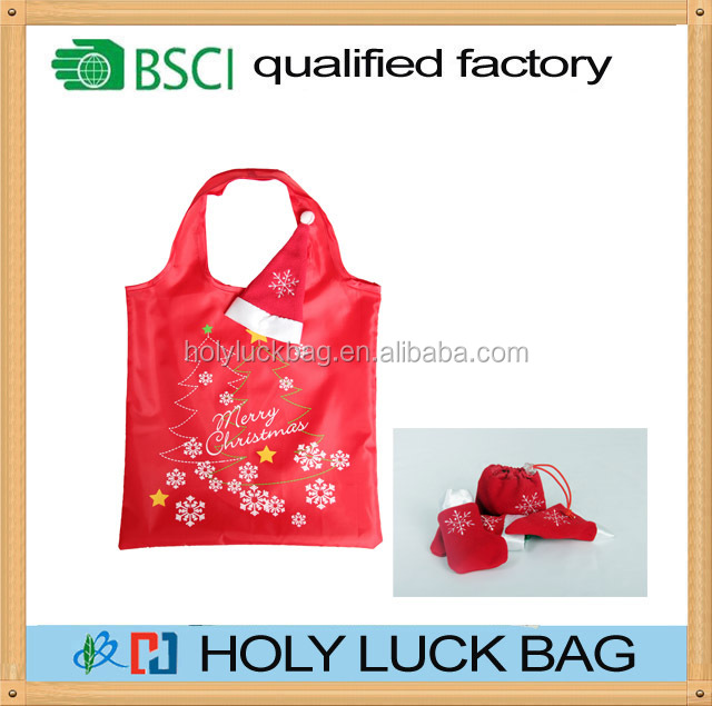 OEM custom clourful reusable eco bag polyester for shopping