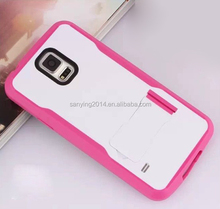 mobile cover/armour racing car phone case/dual color phone case for Samsung S5