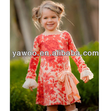 Lovely New Boutique adult lady girls party baby girl cotton dress for 2014 new design fashion baby dress wholesale kids clothes