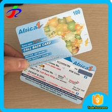 made in china paper scratch card printing for voip reseller