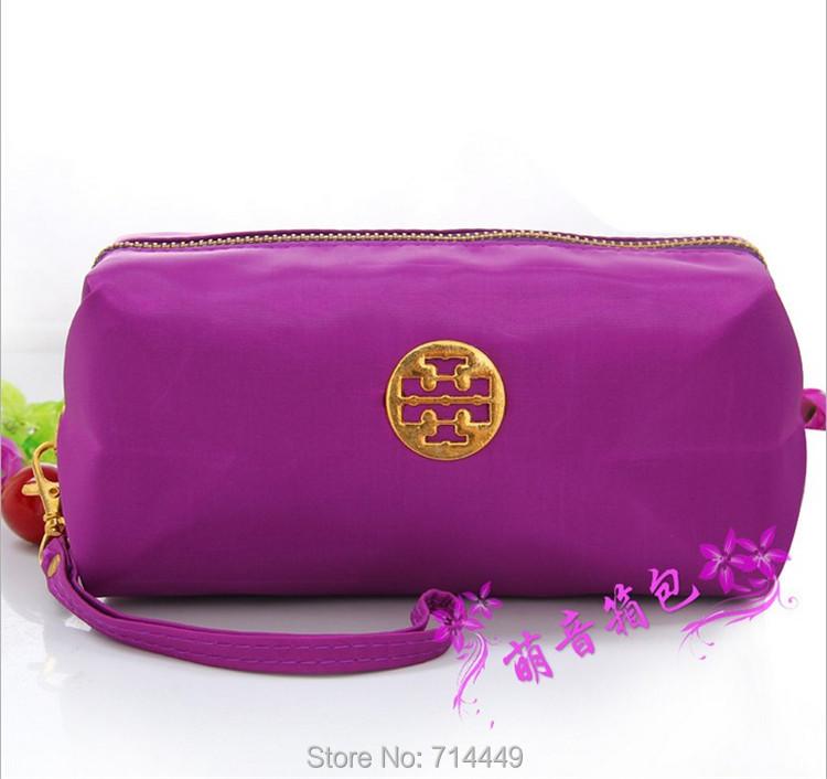 Wholesale Cotton Portable Makeup Bag Large Capacity 10pcs Cosmetic