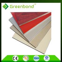 GREENBOND OEM free Lightweight acp aluminum composite panel