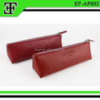 Wholesale Hot selling new arrival promotional factory leather pen case pouch pencil bag