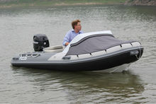 2015 Made-in-China Factory Price Rigid Hull Fiberglass Inflatable Boat Rib for Sale