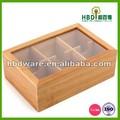 De alta calidad en caliente de la venta de eco- ambiente de madera caja de té para la venta