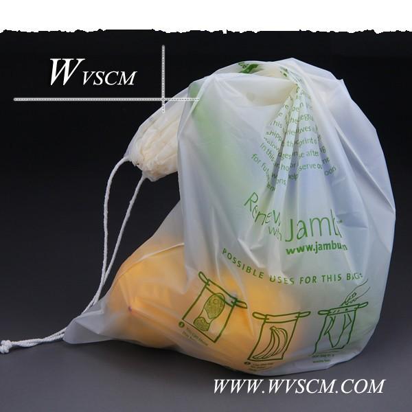 ekonomik biyobozunur plastik alışveriş çanta ambalaj