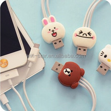 Alibaba shopping site chinese online express CARTOON multi function usb cable manufacture