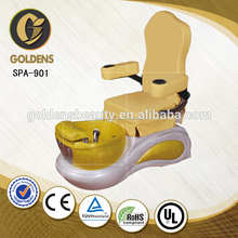 De lujo más nuevo pedicura pies spa silla de masaje para el niño