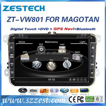 ZESTECH 2 Din Car dvd player for VW MAGOTAN In dash 2din with HD display/bluetooth/GPS/USB/SD/Radio/TV /Rear camera