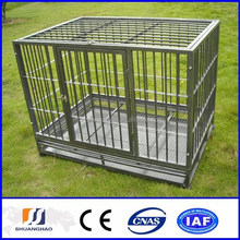 Lowest price Hot-dipped dog kennel cage(manufactory)