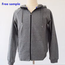 2015 oem cotton men plain tshirt with hoodies