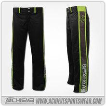 Slow Pitch Full Dye Sublimated Pants Baseball Team