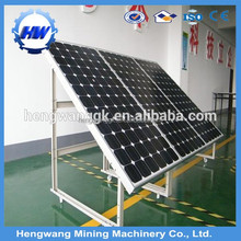 Best quality mono silicon solar system with 250W Monocrystalline price per watt solar panels For Home Use