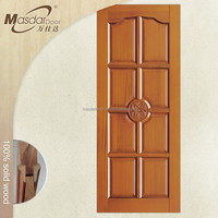 Raw solid teak wood doors prices
