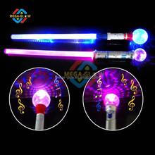 Children musical magic wand , Hot sale flashing princess stick