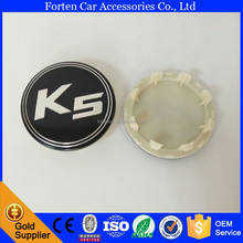 58mm ABS Black Car Wheel Center Centre Caps For K5 Hubcaps Cover Rim Logo