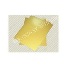 Golden inkjet printin g PVC