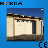 high quality sectional garage door sandwich panel galvanized steel