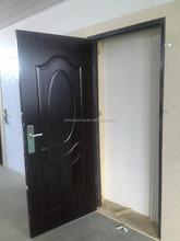 2015 baodu american steel door WITH blackwalnut and various color china supplier alibaba