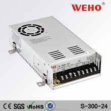 High quality outlet 300w Switching Adapter ac/dc 24v 300w power supply
