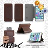 new stand book style leather case for mobile phone